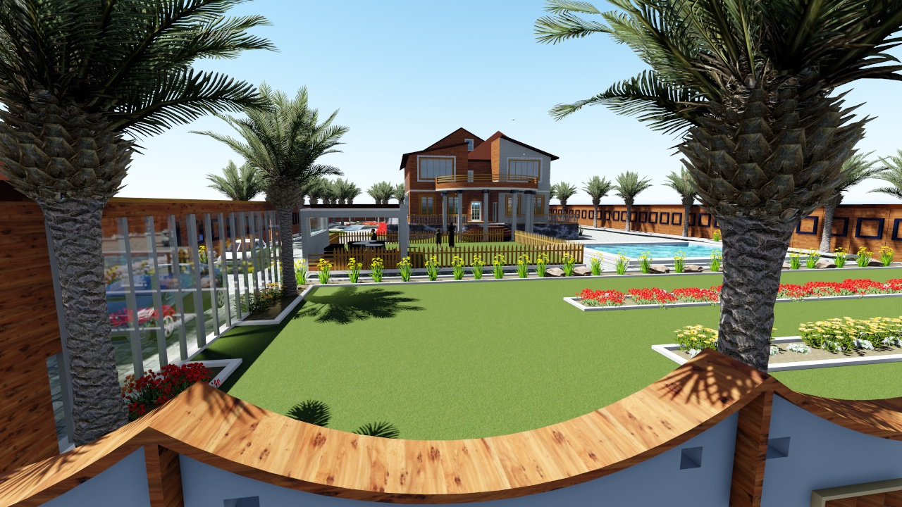 3D Designing and Landscape designing in Rawalpindi Pakistan