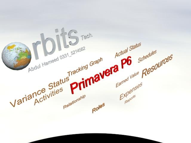 """Primavera Training Course in Rawalpindi Pakistan Orbits"""