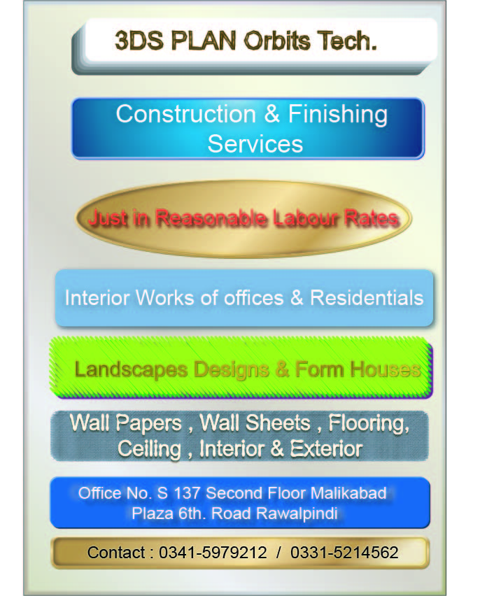 Construction services in Rawalpindi Islamabad  Pakistan