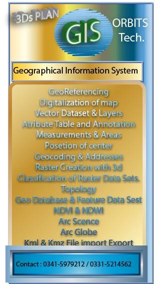 GIS Course in Rawalpindi Islamabad Pakistan