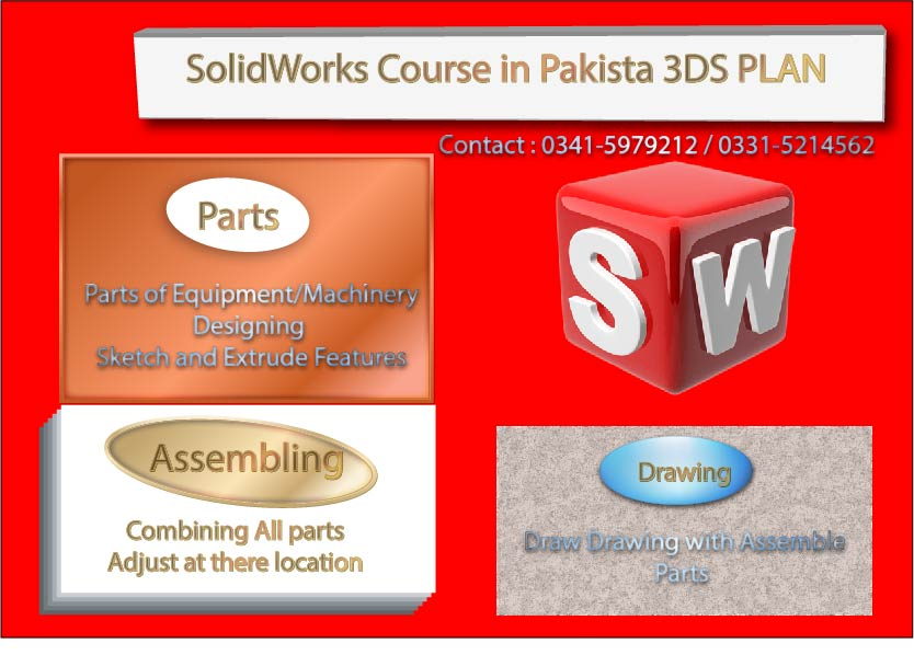 SolidWorks Course in Rawalpindi Islamabad Pakistan